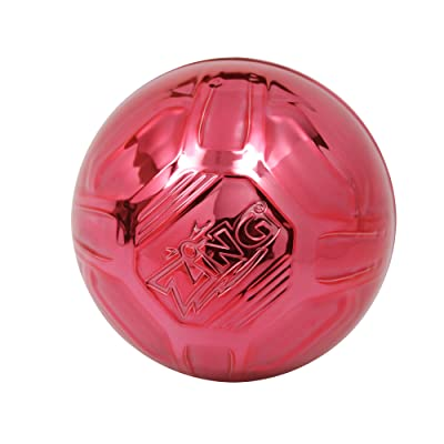 Zing Metaltek Ball, Red: Toys & Games