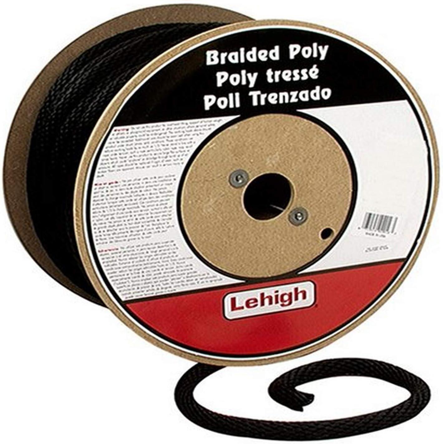 B0009WG68O Crawford-Lehigh BKSBP860 3/8-Inch-by-600-Foot Solid Braid Derby Poly Rope, Black 71dxJWTWc-L