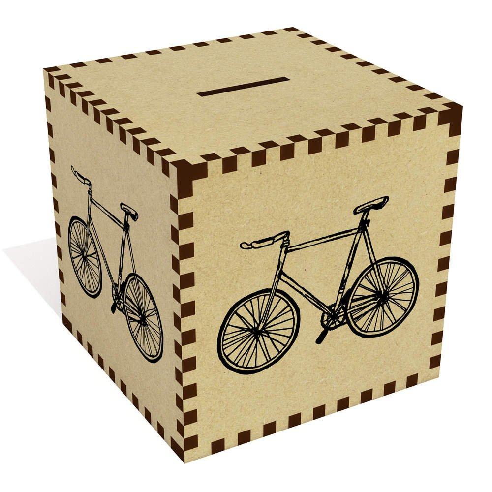 Azeeda Grande Bicicleta Caja de Dinero / Hucha (MB00013883 ...