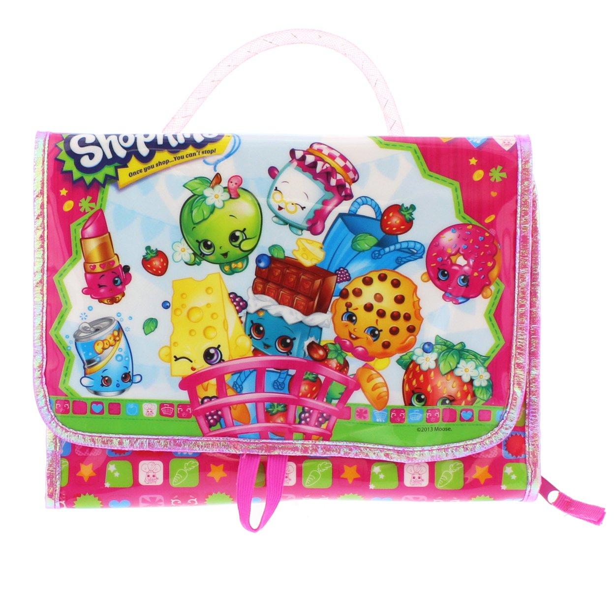 Amazon com shopkins toy carry case figure storage organization toys games