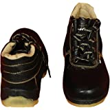 Meddo FAB Synthetic Leather Safety Shoes, Size 7