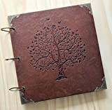 Love Birds, Tree of Life - Engraved Wedding Guest