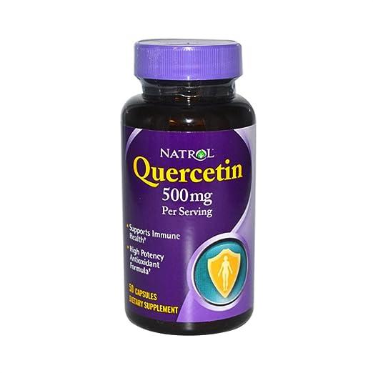 Natrol Quercetin 500 mg Caps, 50 ct