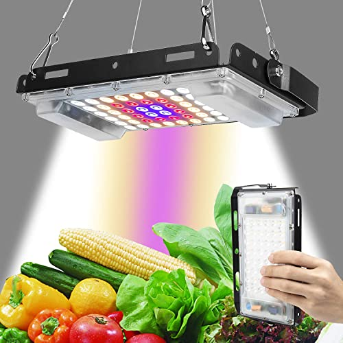 Grow Light, LBW 150W LED Full Spectrum Plant Light Panel, Growing Lamp with White Red Blue Bulb for Indoor Plants Seedling Vegetable and Flower