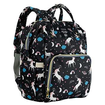 4627457cd17e Amazon.com   MiGer Diaper Bag Backpack for Mom Dad