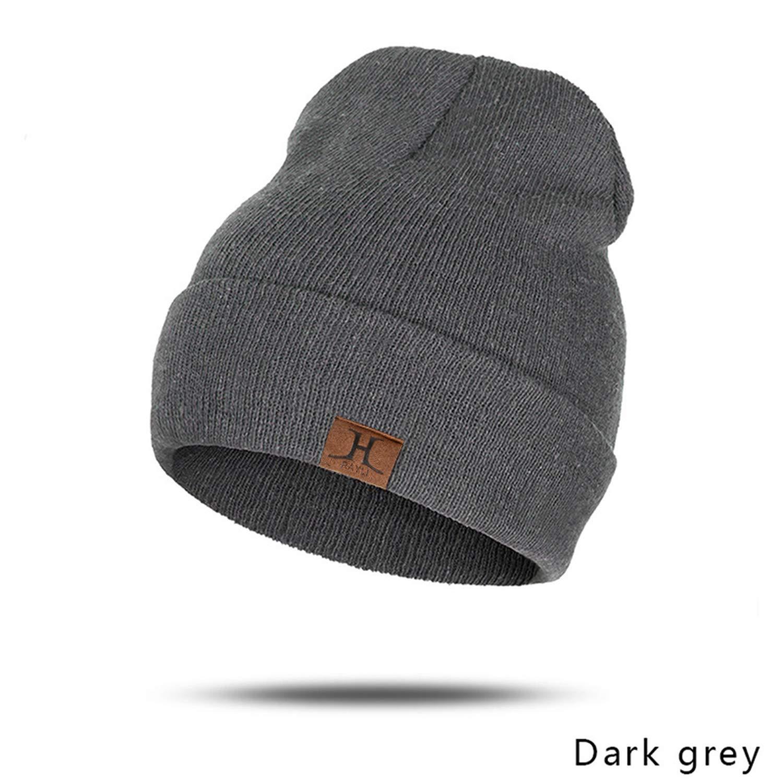 Fashion Beanies Unisex Slouchy Knitting Beanie Hip Hop Cap Warm Winter Hat for Men Women Ladies Slouch Hats