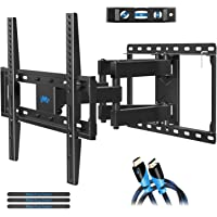 Mounting Dream TV Wall Mount TV Bracket for Most 32-55 Inch Flat Screen TV/Mount Bracket, Full Motion TV Wall Mount with Swivel Articulating Dual Arms, Max VESA 400x400mm, 99 LBS Loading MD2380