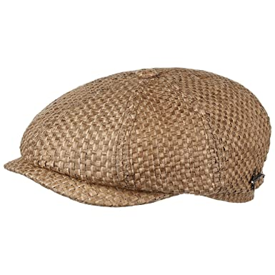 2fc07f8299c Stetson Hatteras Toyo Flat Cap for Women and Men Ivy hat Cap with Peak  Spring Summer