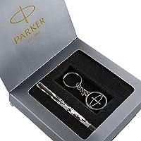Parker Vector Camouflage Gift Set - Roller Ball Pen & Parker Keychain (Black Body, Blue Ink)