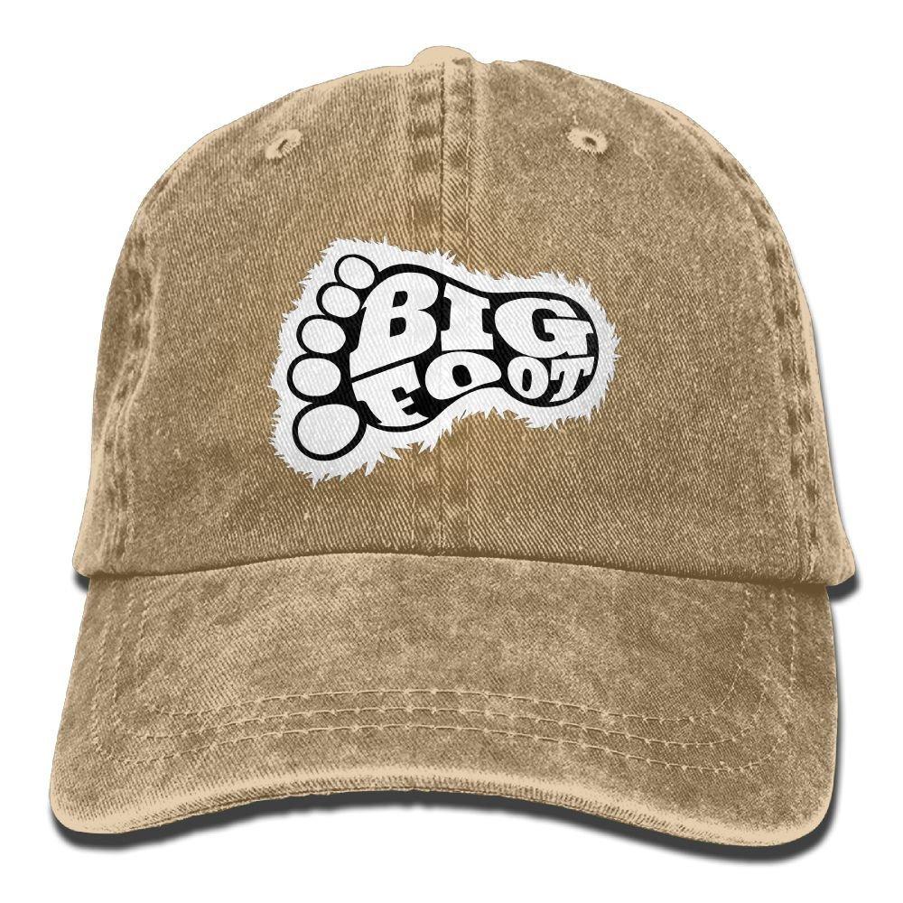 LETI LISW BigfootClassicDenim Cap Adult Unisex Adjustable Cap