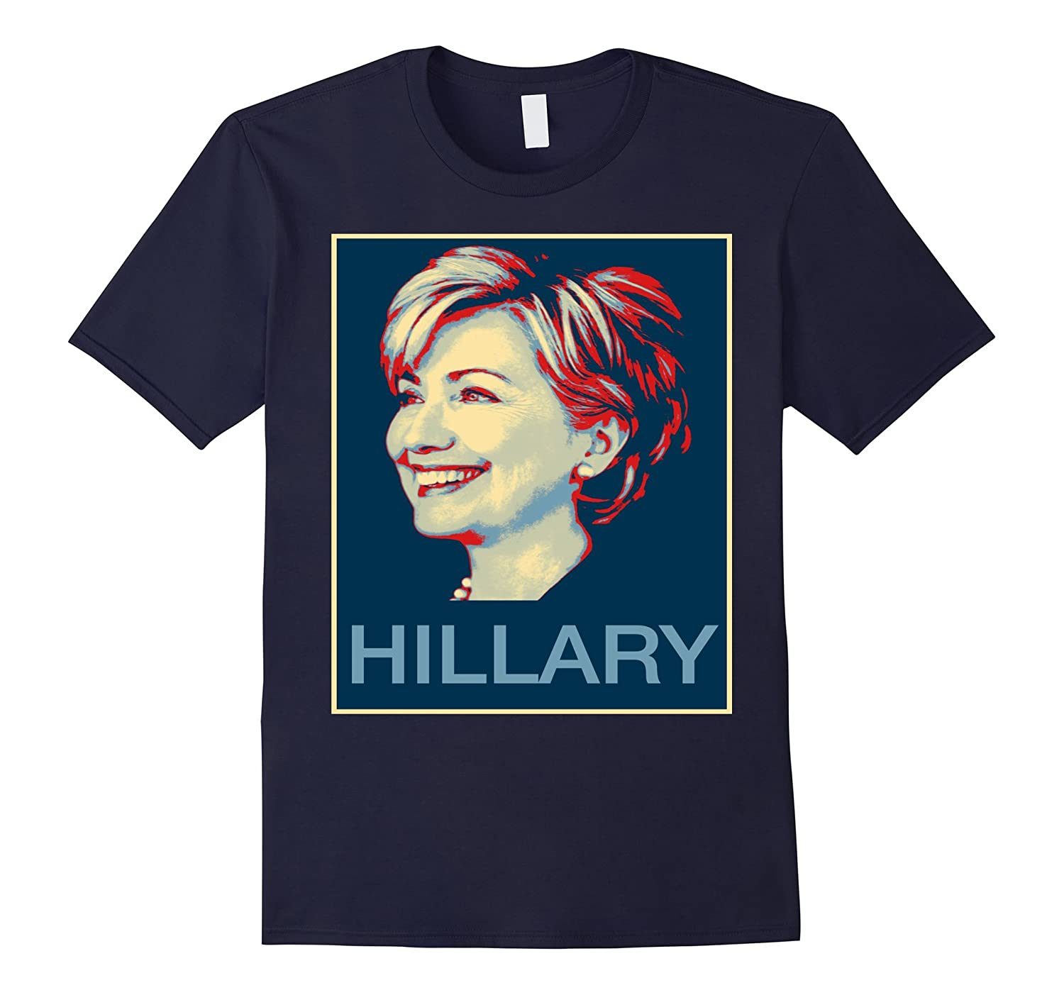 2016 Election Hope Poster Hillary Clinton T Shirt-Art