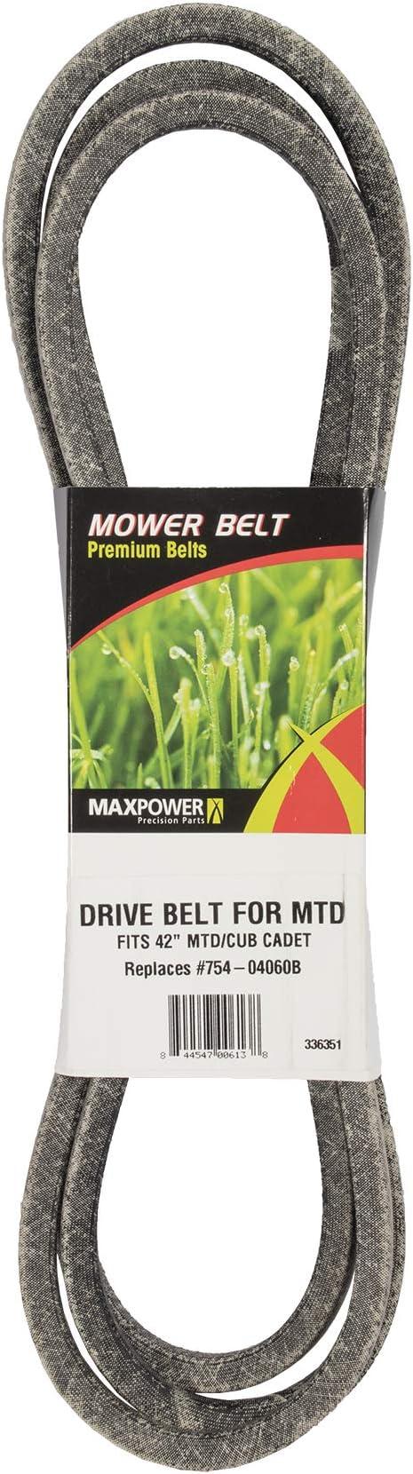 The best Deck Drive Belt - Maxpower 336351B Deck Drive Belt