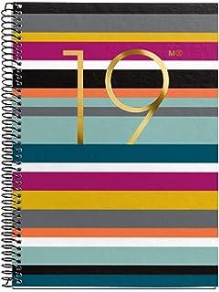 Miquelrius 360066 - Agenda anual día página 2019: Amazon.es ...