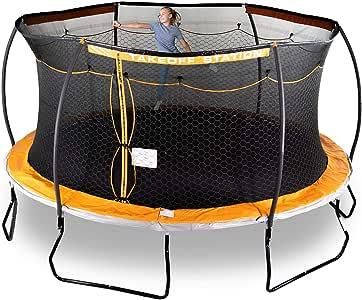 Trampolín Steelflex de 15 pies con Tirador electrónico: Amazon.es ...