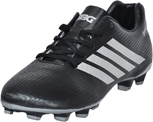 9. GBG Mens Messi Synthetic Leather Football Shoes