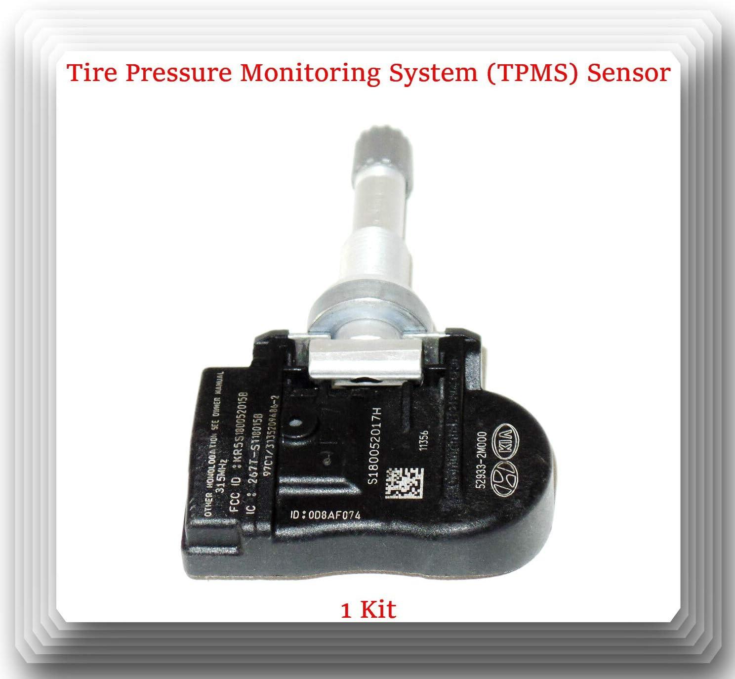 Hyundai Kia TPMS Tire Pressure Sensors 52933-2M000 SET