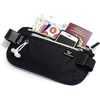 TRAVEL SMART Ultra Slim Money Belt Travelling RFID Blocking Waist Passport Holder