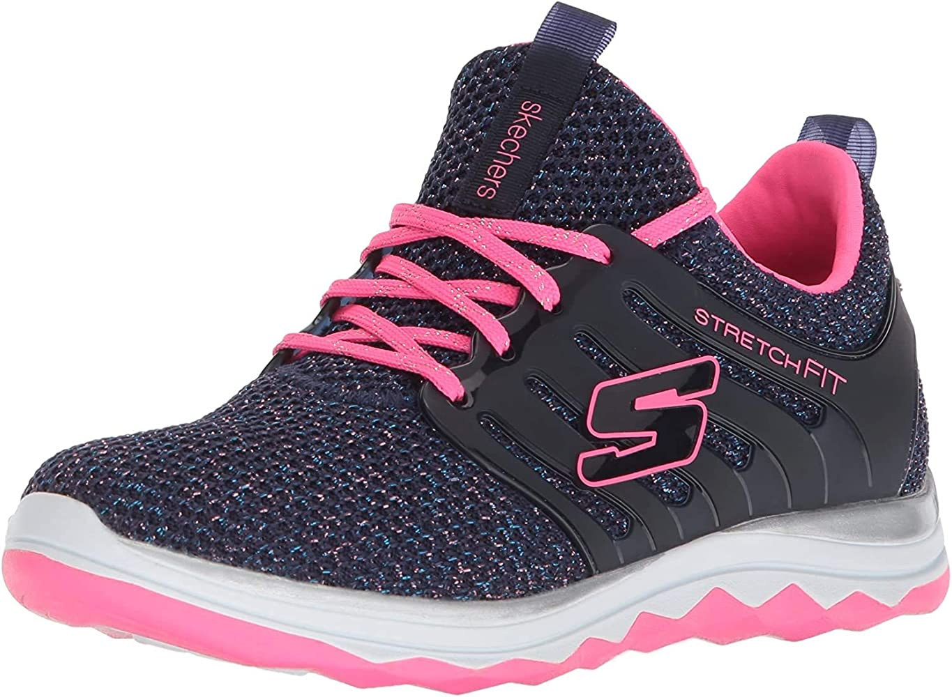 Skechers Diamond Runner, Zapatillas de Running para Niñas, Azul ...