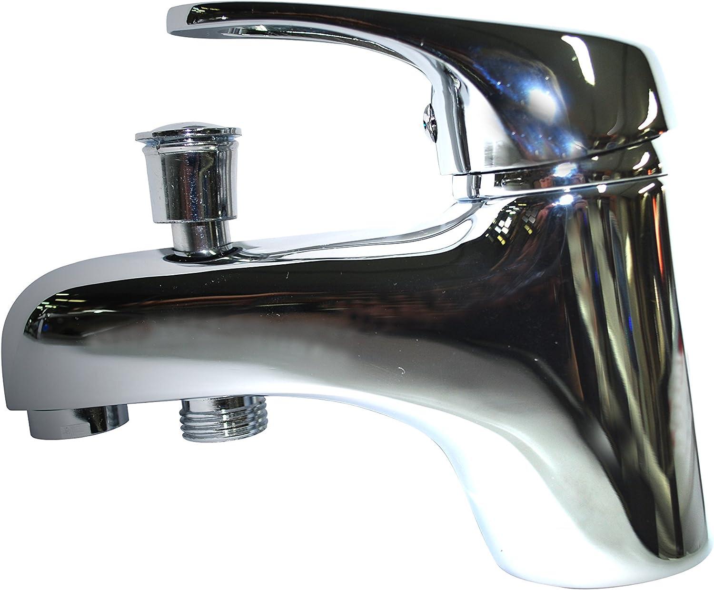 Boutt/é MITBD-M Mitigeur bain douche monotrou chrome 15x21 Argent
