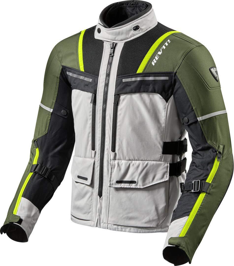 Revit Offtrack Motorrad Textiljacke Grau//Blau L