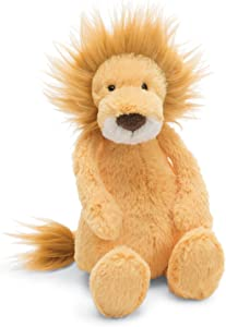 Jellycat Bashful Lion Stuffed Animal, Medium, 12 inches