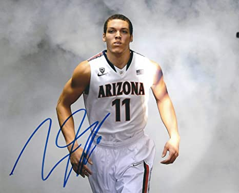 the latest 1c597 a9c80 Autographed Aaron Gordon University of Arizona 8x10 photo at ...
