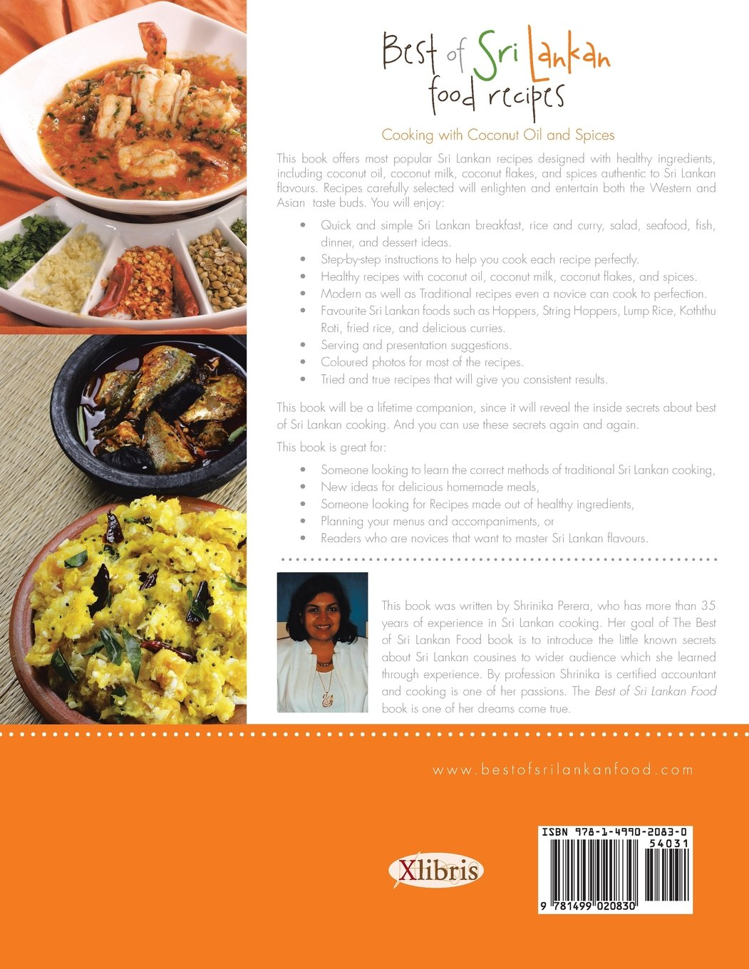 Best of sri lankan food recipes healthy cooking with coconut and best of sri lankan food recipes healthy cooking with coconut and spices shrinika perera 9781499020830 amazon books forumfinder Image collections