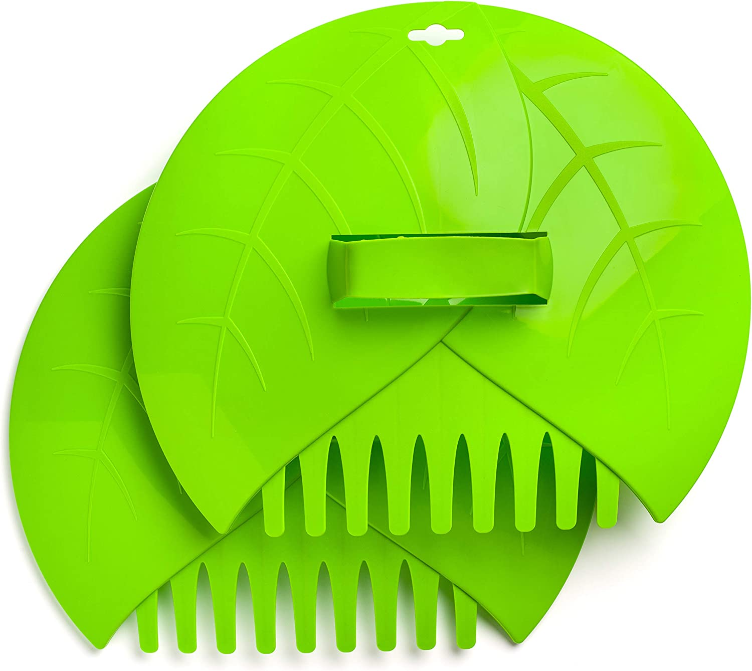 Leaf Scoops Hand Rakes - Includes Garden Leaf Bag - For Easy Leaf and Lawn Grass Removal