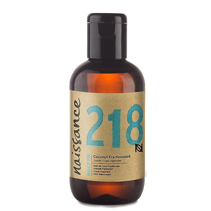 Naissance Aceite Vegetal de Coco Fraccionado n. º 218 - 100ml - Puro, natural, vegano, sin hexano, no OGM - Ideal para aromaterapia, masajes y recetas ...