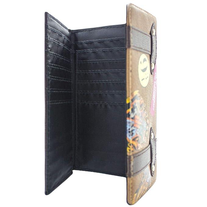 c1075ccac5a8 Harry potter Stile valigia scuola Nero Portafoglio Portafogli e porta  documenti Portafogli
