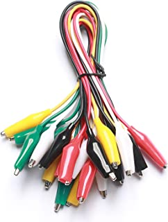 jumper wires with alligator style spring clips at each end 3 9amazon com alligator clip test leads elegoo 30 pcs alligator clip rh amazon com