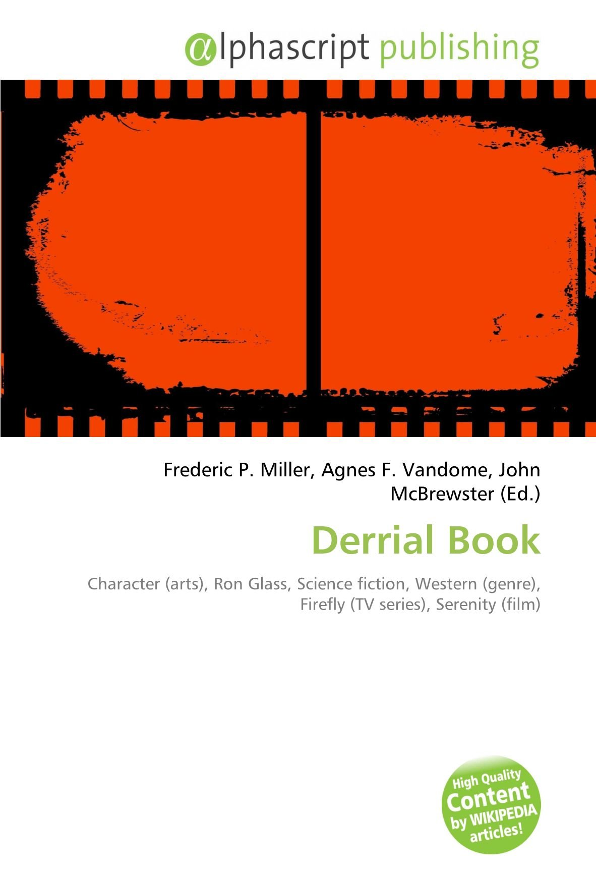 Derrial Book: Character arts , Ron Glass, Science fiction ...