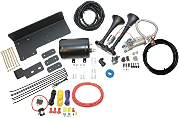 Kleinn Air Horns JeepKit-1 Complete Bolt-On Dual Air Horn Kit for Jeep on ford bronco wiring diagram, 1991 jeep cherokee fuse box diagram, jeep jk wiring harness, acura tl wiring diagram, chevrolet impala wiring diagram, jeep cj7 wiring-diagram, jeep starter wiring, 2007 jeep liberty wiring diagram, volkswagen golf wiring diagram, suzuki xl7 wiring diagram, volkswagen cabriolet wiring diagram, 95 jeep wiring diagram, ford thunderbird wiring diagram, jeep grand cherokee fuse box diagram, 91 silverado wiring diagram, jeep wrangler, jeep zj wiring diagram, jeep to chevy wiring harness, cadillac xlr wiring diagram, chrysler crossfire wiring diagram,