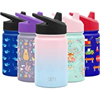 Simple Modern Kids Summit Sippy Cup Thermos 10oz - Stainless Steel Toddler Water Bottle Vacuum Insulated Girls and Boys…