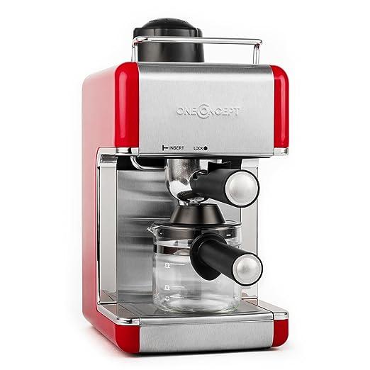 4 opinioni per oneConcept Sagrada macchina per caffè espresso caffettiera con beccuccio