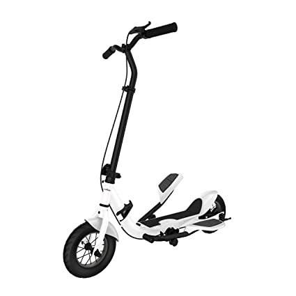 Amazon.com: SUPERRIDE Pedal Scooter, 10 Inch Air Wheel Fold ...