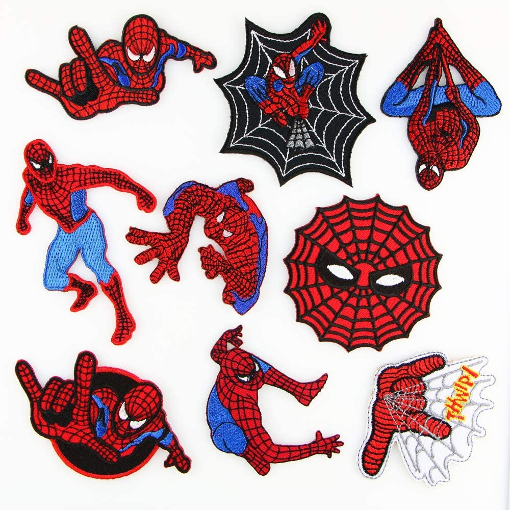 1 X Spider-man Superhero Embroidered iron-on//sew-on patch