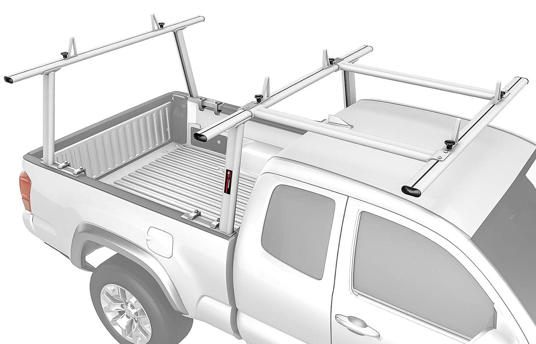 Sandy White AA-Racks Model APX25-E Aluminum Pickup Truck Ladder Rack w//Cantilever Extension