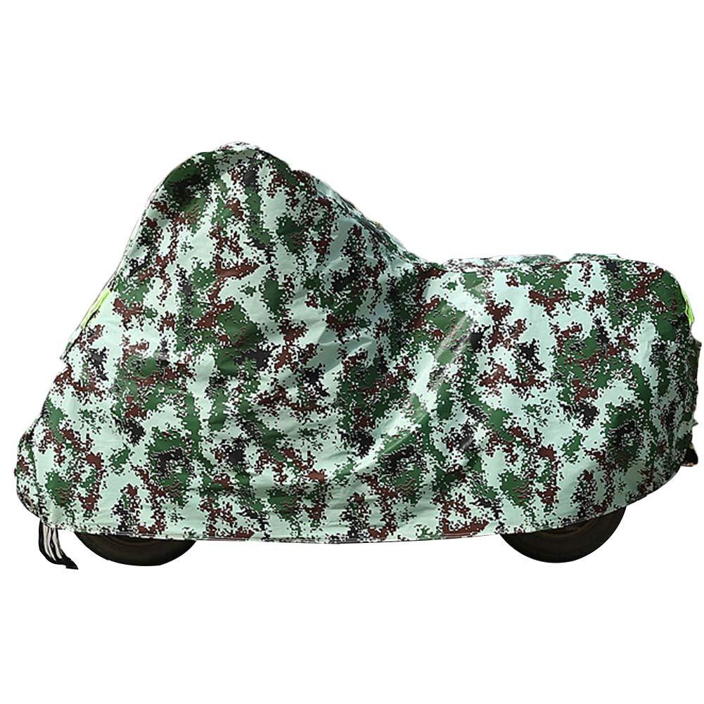 bleu S GZW001 Couverture de mobilier de Jardin Moto Pliable Imperméable Oxford Tissu imperméable à la Pluie, 4 Couleur 4 Taille