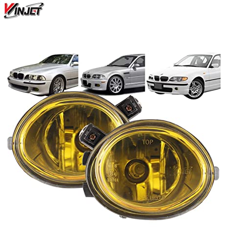 204a90f7da89 Amazon.com  Fog Lights Fits 2001-2005 BMW E46