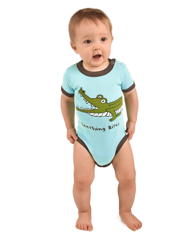 LazyOne Chicos Wide Awake Alligator Mameluco Bebé: Amazon.es: Ropa y accesorios
