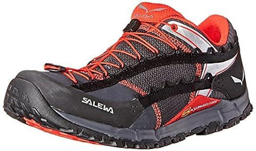 Men's Speed Ascent Shoes Carbon / Flame 8 & E-Tip Glove Bundle