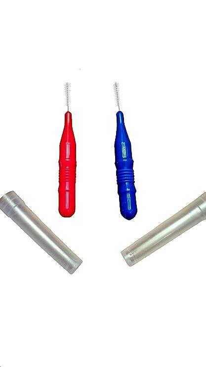 Reutilizable interdental cepillos para limpieza entre dientes, alrededor de trabajo Dental y de difícil acceso