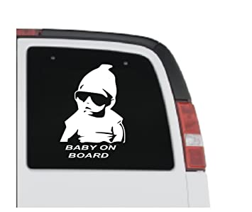 154b301001aa2 Gangster Baby On Board Vinyl sticker For Cars Vans Shop Office Home Cafe  Hotels FREE P P
