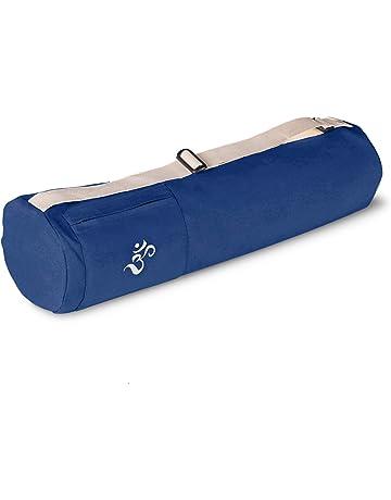 Lotuscrafts Bolsa Yoga para Esterilla Mysore - Justa y Ecológica - Funda Esterilla Yoga - Bolsa