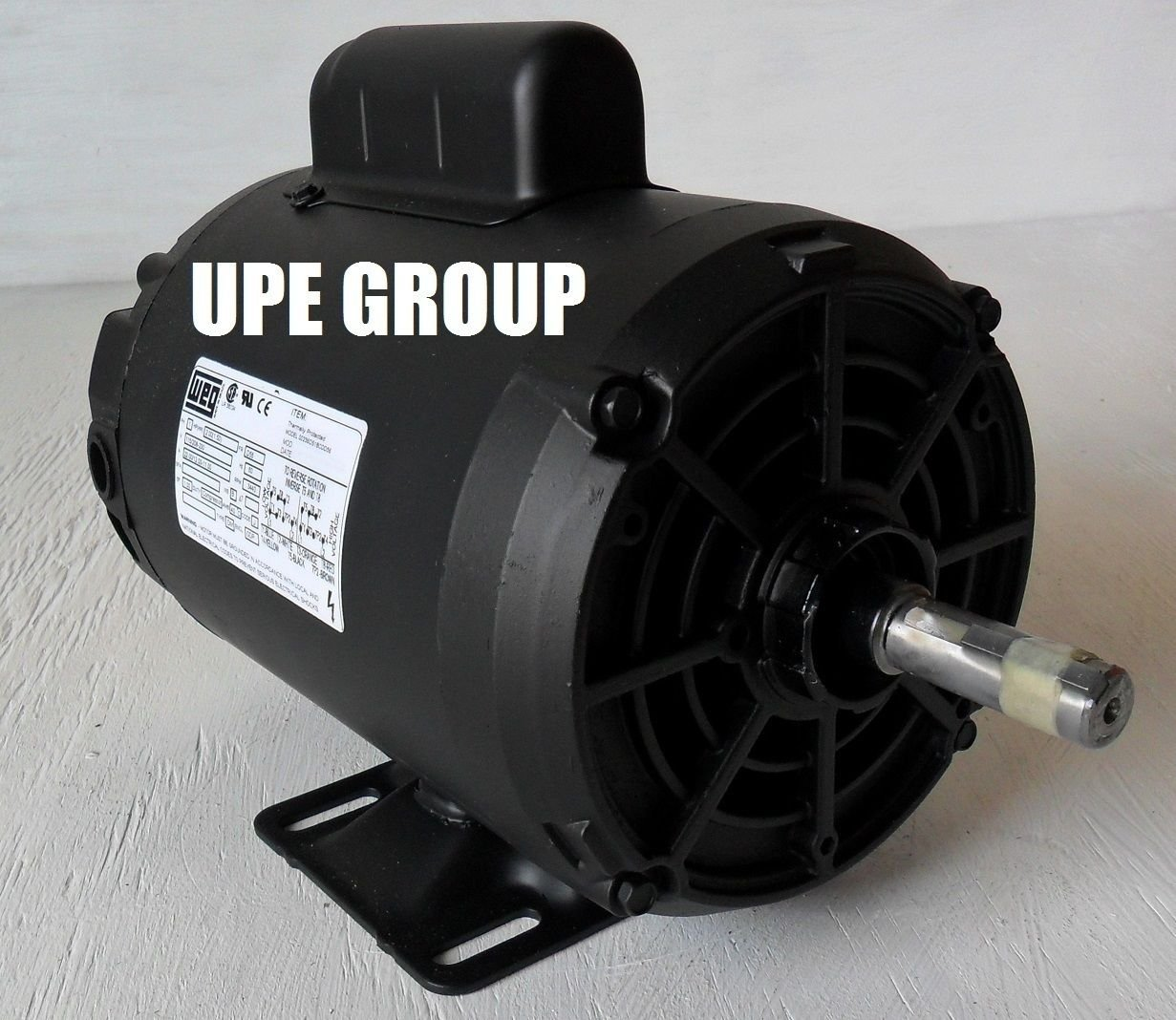 New WEG 2HP Electric Motor Fan Pump Compressor General purpose 56 frame 3495 RPM 1 phase 115/208-240VAC
