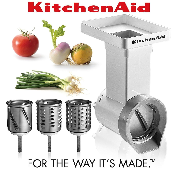 Amazon.com: Kitchenaid FPPC Attachment Pack NEW . Grinder + Strainer ...