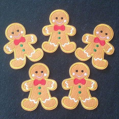 Set de 10 piezas para Navidad disfraces de jengibre gamuza de ...