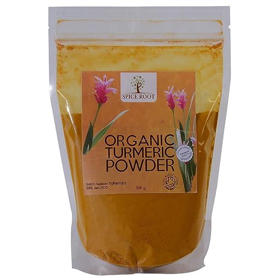 Polvo de cúrcuma orgánico 500g - Bio curcuma polvo