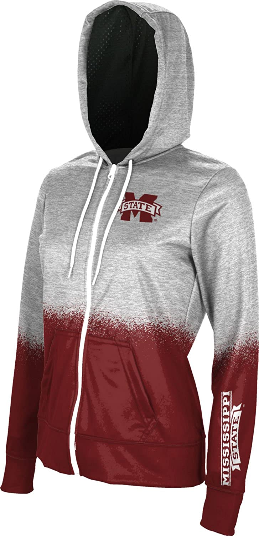 ProSphere Mississippi State University Girls Zipper Hoodie School Spirit Sweatshirt Spray Over